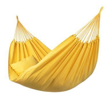 Hængekøje Dobbelt 'Organic' Yellow