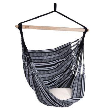 Hængestol Enkelt 'Comfort' Black White