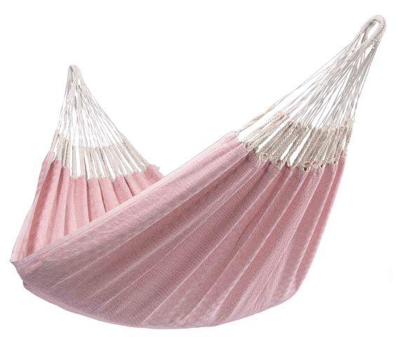 Hængekøje Enkel 'Natural' Pink