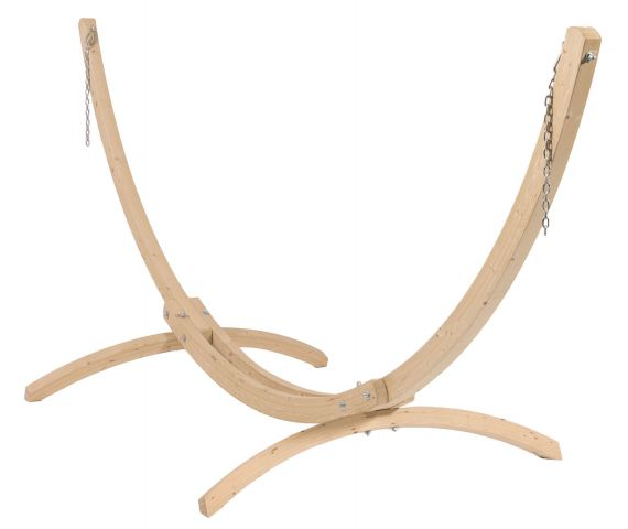 Stativ til Hængekøje Enkel 'Wood'