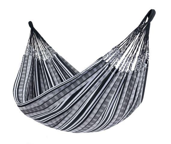 Hængekøje Dobbelt 'Comfort' Black White