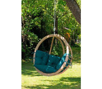 Hængestol Enkelt 'Globo' Green