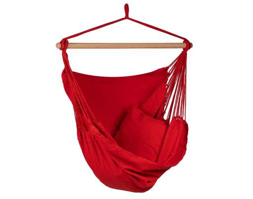 Hængestol Enkelt 'Organic' Red
